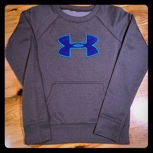 Grey Under Amour sweatshirt